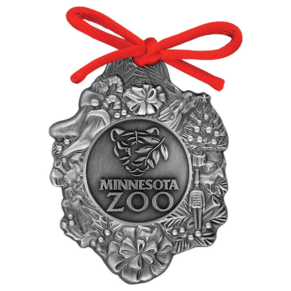 PEWTER MINNESOTA ZOO ORNAMENT