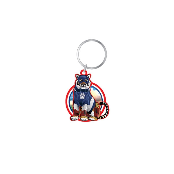 Pop Culture Tiger Keychain
