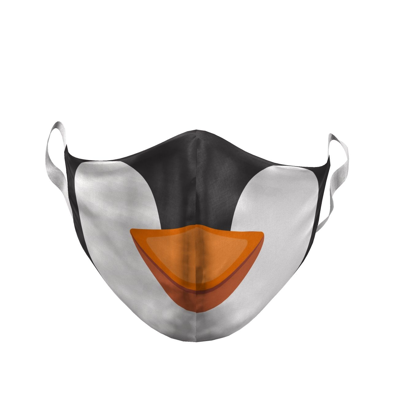 YOUTH PENGUIN CARTOON FACE MASK