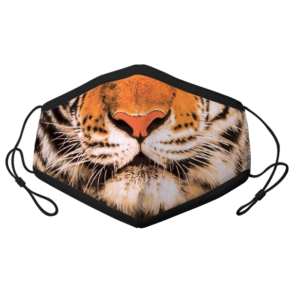 YOUTH ADJUSTABLE TIGER FACE MASK
