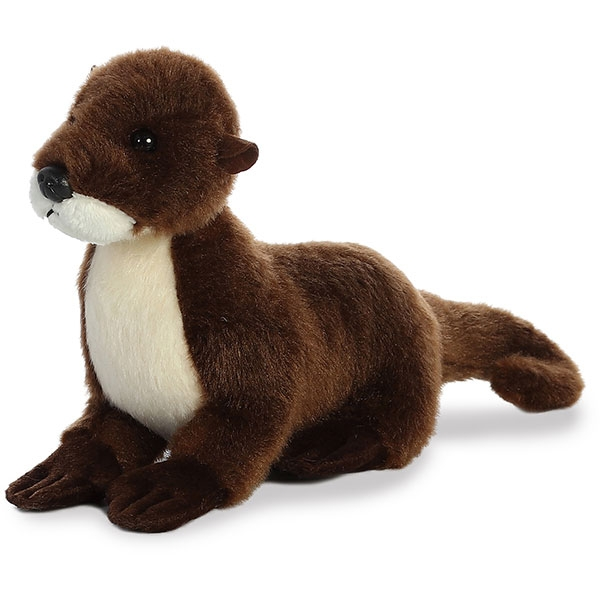 RIVER OTTER MINI FLOPSIE PLUSH