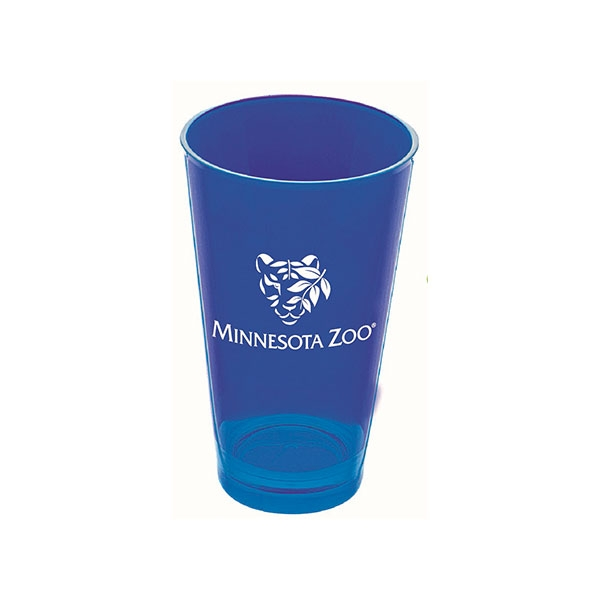 TUMBLER VIVA WITH MINNESOTA ZOO LOGO BLUE