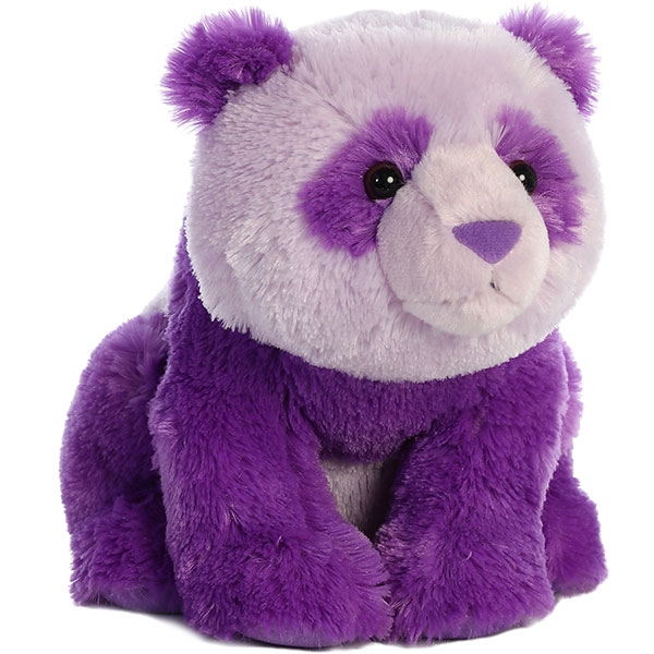 PANDA DESTINATION NATION PLUSH PURPLE