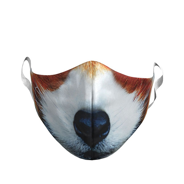 YOUTH RED PANDA PHOTO FACE MASK