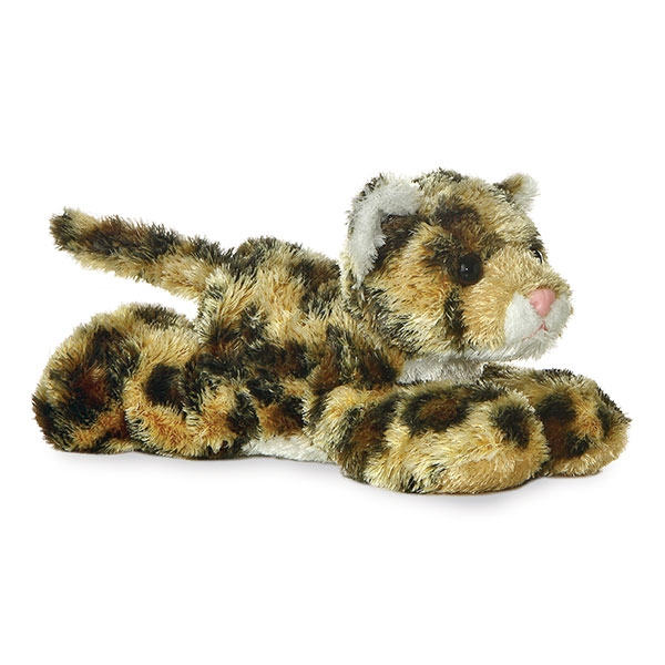 LEOPARD MINI FLOPSIE PLUSH