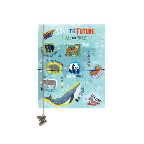 JOURNAL SAVE THE FUTURE, SHARE THE WORLD