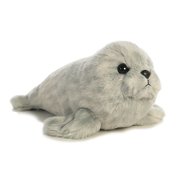 HARBOR SEAL MINI FLOPSIE PLUSH