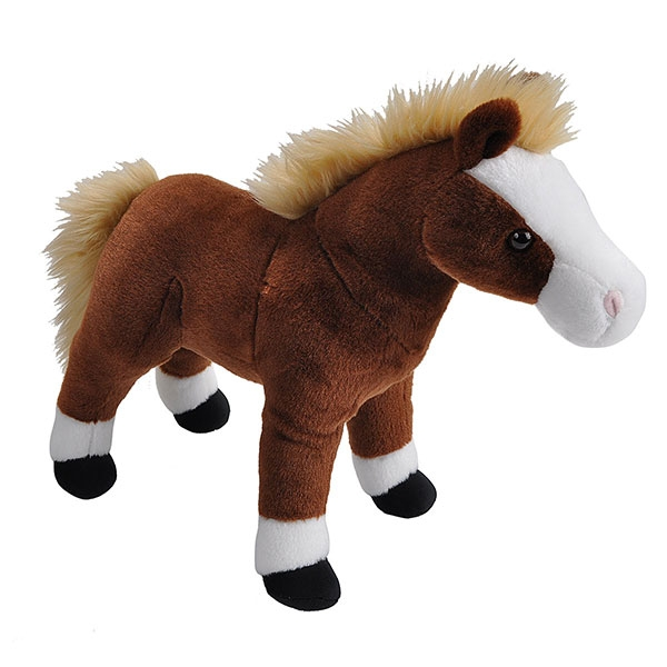 HORSE BROWN PLUSH
