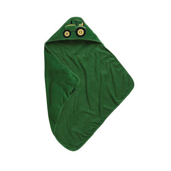 JOHN DEER HOODED TOWEL