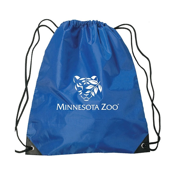 BACKPACK DRAWSTRING TIGER LOGO NAVY
