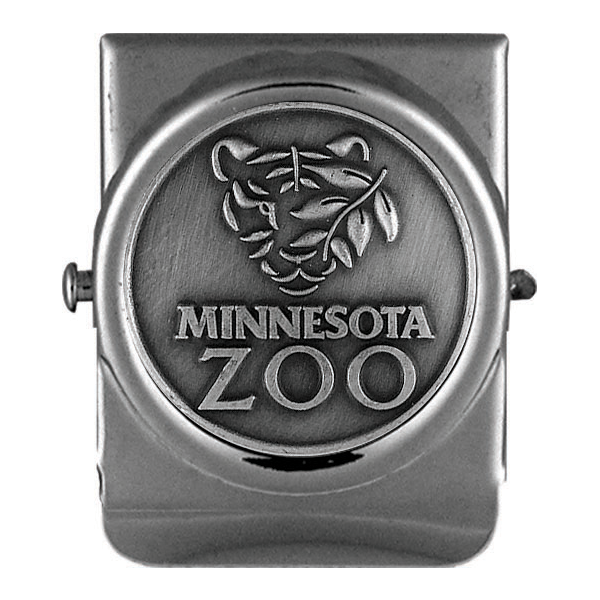 PEWTER MINNESOTA ZOO MAGNET CLIP