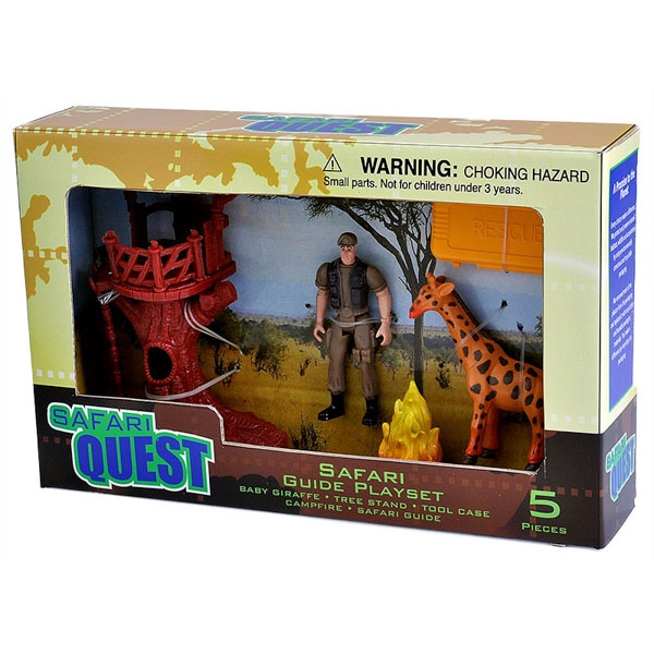 SAFARI QUEST E-TEAM PLAYSET