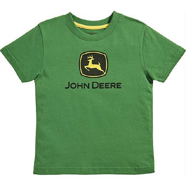TODDLER JOHN DEER TEE GREEN